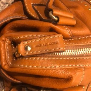 Michael Kors Bags - Michael Kors soft camel leather satchel